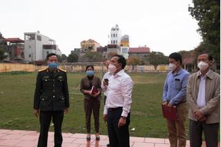 Doanh nghiệp của huyện Cẩm Giàng chỉ hoạt động khi đáp ứng đủ các tiêu chí chống dịch COVID-19