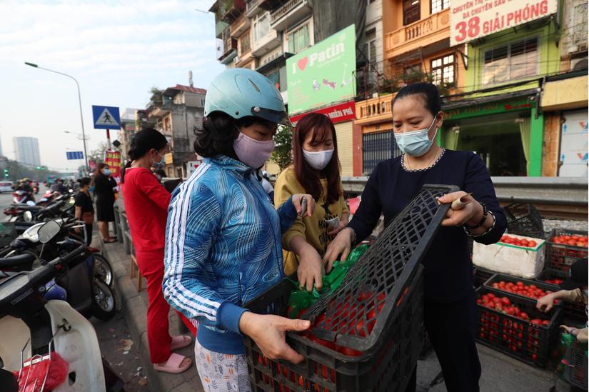 Người phụ nữ 2 ngày giải cứu 30 tấn nông sản giúp bà con nông dân vùng dịch Hải Dương