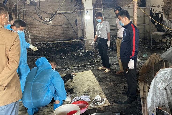 Cháy nhà trong đêm, 1 người chết chưa rõ danh tính
