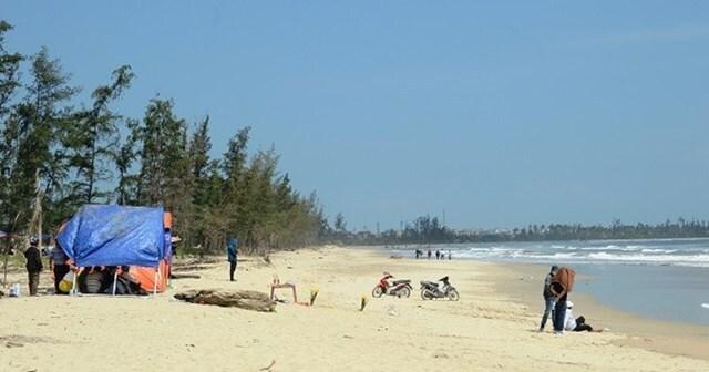 Quảng Ngãi: Tìm thấy thi thể học sinh tắm biển bị mất tích