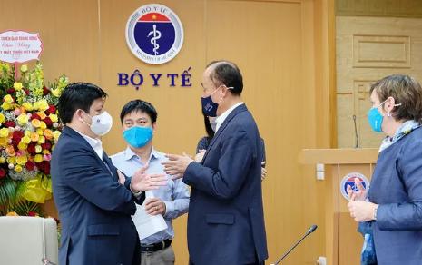 Bộ Y tế chuẩn bị kế hoạch triển khai tiêm chủng vaccine COVID-19