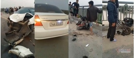 Vụ ô tô tông liên hoàn ở Quảng Trị: Danh tính 4 học sinh thương vong