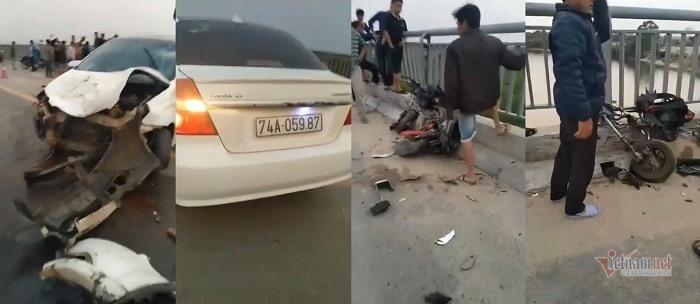 Danh tính 4 học sinh thương vong vụ ô tô tông xe đạp điện ở Quảng Trị