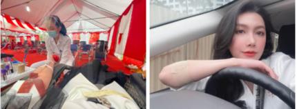 MC Minh Hà của VTV bất ngờ gặp 'sự cố' khó quên khi đi hiến máu lần thứ 13