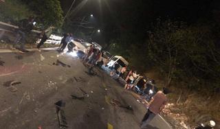Xe container gây tai nạn liên hoàn, 6 ô tô gặp nạn trên đèo Bảo Lộc