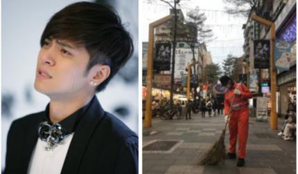 Rộ tin mỹ nam phim 'Lương Sơn Bá Chúc Anh Đài' phải đi quét rác sau ồn ào ngoại tình