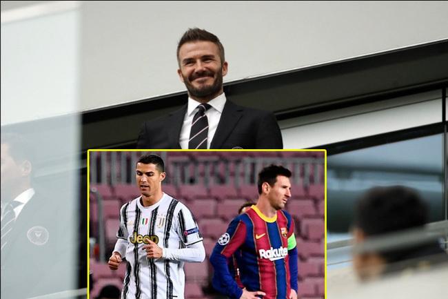 Beckham công khai tham vọng chiêu mộ cả Ronaldo và Messi