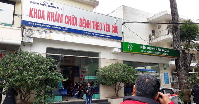 Từ 1/4, khám giáo sư ở Bệnh viện Bạch Mai 550.000 đồng/lượt, giường cao nhất 3,3 triệu/ngườiTừ 1/4, khám giáo sư ở Bệnh viện Bạch Mai 550.000 đồng/lượt, giường cao nhất 3,3 triệu/người