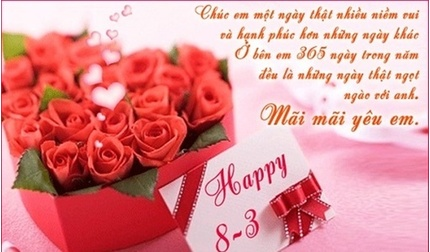 Đừng kiệm lời, các ông chồng hãy gửi những lời chúc mừng này đến vợ trong ngày 8/3