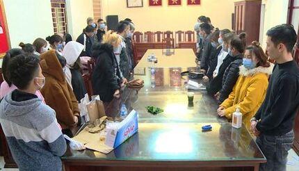 Thanh Hóa bắt 37 nam nữ sử dụng ma túy trong quán karaoke và khách sạn