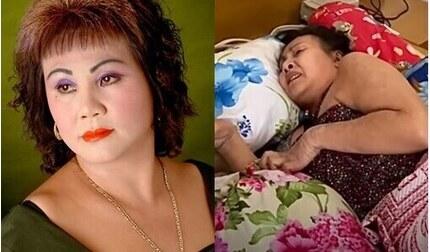 Đồng nghiệp xót xa khi chứng kiến NS Hoàng Lan nằm liệt giường, bị hoại tử nặng