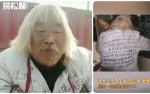 TQ: Ông lão ăn xin tóc bạc phơ bỗng chốc hóa