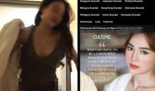 """Ninh Dương Lan Ngọc bị đồn lộ clip nóng trên web đen: """"Có người muốn hại tôi"""""""