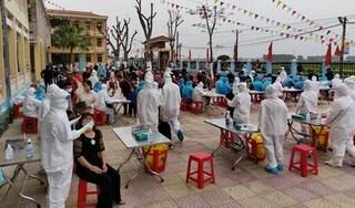 Hải Dương: Lấy mẫu xét nghiệm Covid-19 đối với tất cả người dân TP Chí Linh