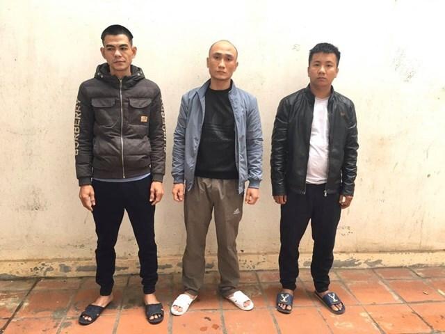 Bộ ba trộm cắp xe máy liên tỉnh 'sở hữu' 7 tiền án