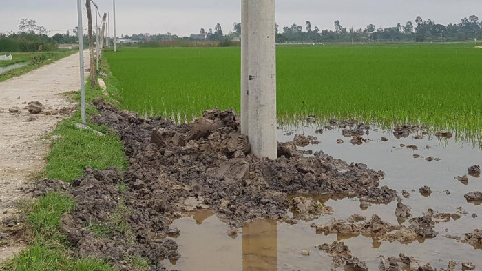 Vụ 2 anh em đuối nước ở Thanh Hóa, đơn vị nào thi công công trình