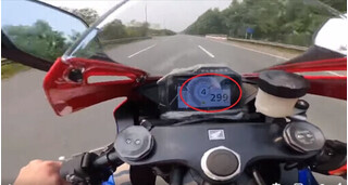 Đã tìm được tài xế phóng mô tô 299km/h trên đại lộ Thăng Long