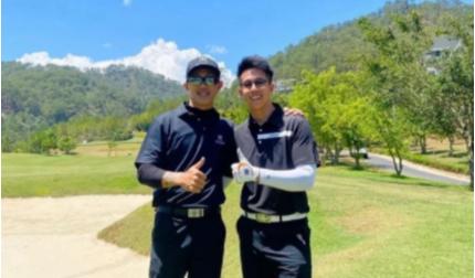 Giữa tin đồn lục đục, Matt Lưu và tình cũ Hương Giang cùng đi chơi gofl