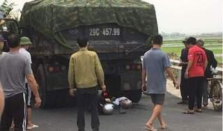Nam Định: Nữ sinh tử vong, cô giáo nguy kịch sau tai nạn giao thông