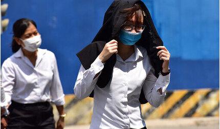 TP.HCM: Nắng nóng 37 độ C cùng UV mức nguy cơ gây hại rất cao