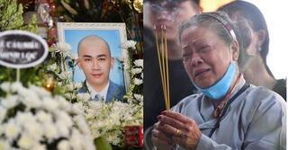 Nghẹn lòng mẹ chuyên gia trang điểm Minh Lộc không kịp nhìn con lần cuối