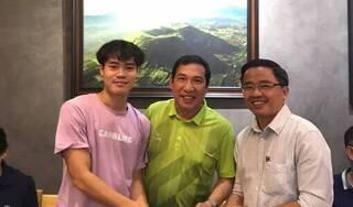 NSƯT Quang Thắng bất ngờ nhận cầu thủ Văn Toàn làm con rể