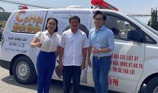 Nghệ sĩ Việt Hương tặng 1,7 tỷ cho ông Đoàn Ngọc Hải để mua xe cứu thương mới