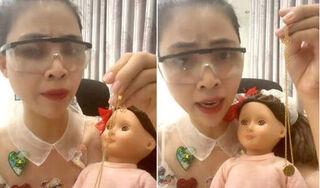 """Trước clip """"Xin vía"""", Thơ Nguyễn nhiều lần đăng nội dung phản cảm, nguy hiểm cho trẻ em"""