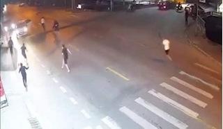 Vụ rượt chém nhau kinh hoàng trên phố ở Nam Định: Vì ghen tuông