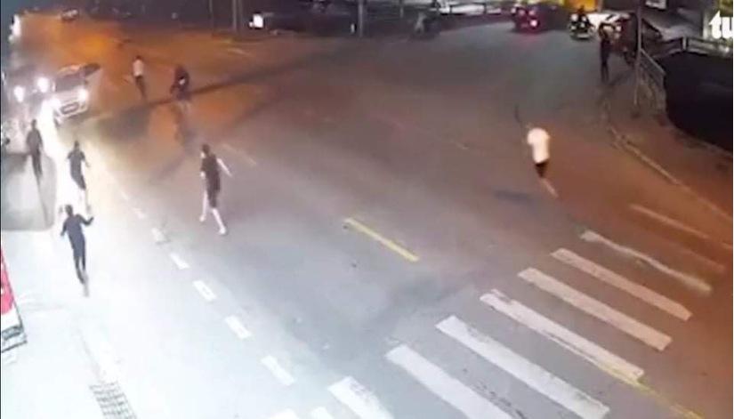 Vụ rượt chém nhau kinh hoàng trên phố ở Nam Định, vì ghen tuông