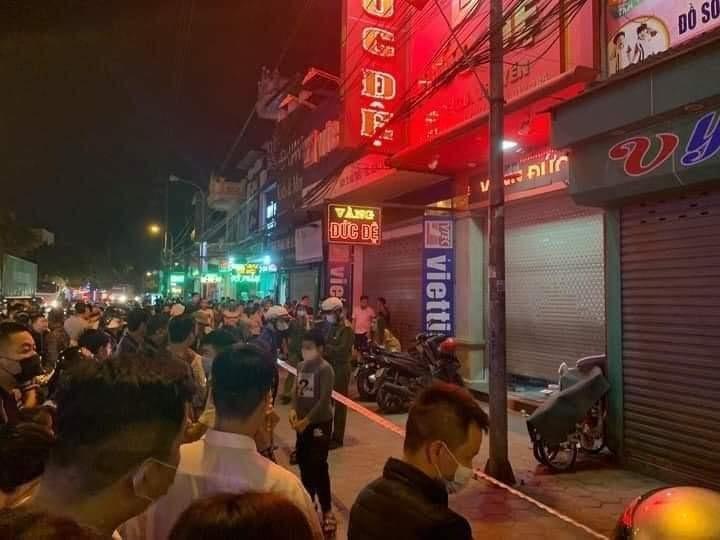 Truy bắt kẻ ném chất nổ tự chế khiến một tiệm vàng ở Hải Phòng nổ lớn