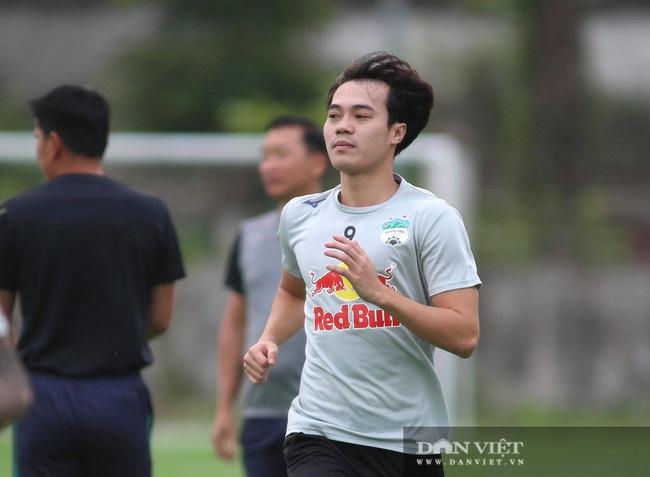 Văn Toàn đã sẵn sàng cho trận đấu với Hồng Lĩnh Hà Tĩnh