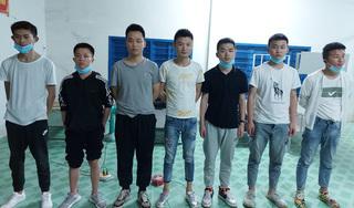 An Giang: Phát hiện 7 người Trung Quốc có ý định xuất cảnh trái phép sang Campuchia