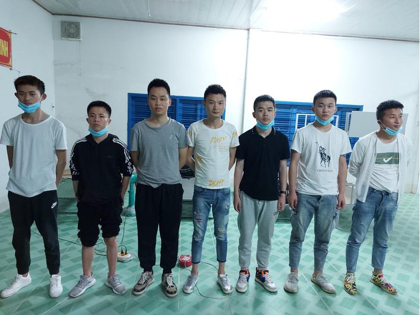 Phát hiện 7 người Trung Quốc có ý định xuất cảnh trái phép sang Campuchia