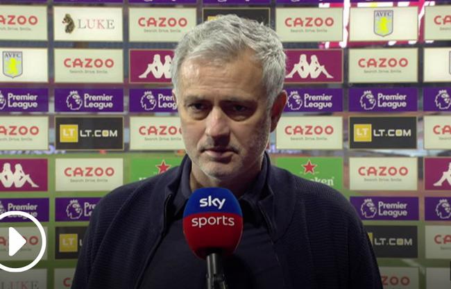 HLV Mourinho đề cao 1 điều