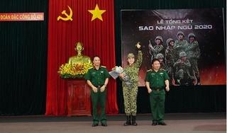 Hoa hậu Nguyễn Cao Kỳ Duyên xuất sắc trở thành quán quân Sao nhập ngũ 2020
