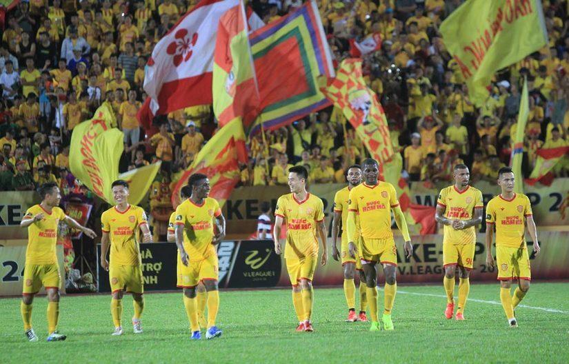 Đánh bại Bình Định Nam Định có chiến thắng thứ 2 kể từ đầu giải