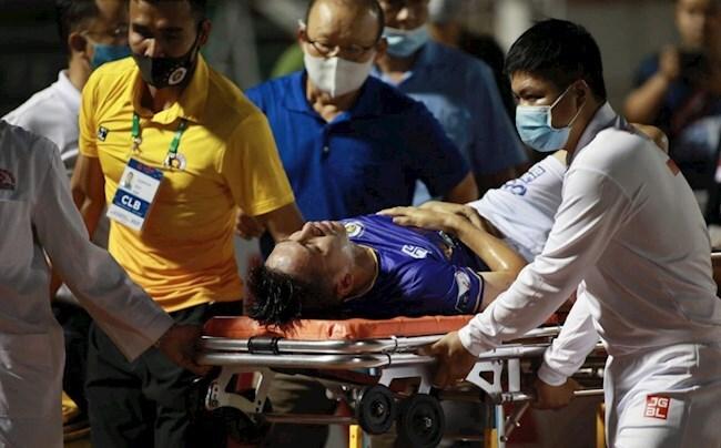 Báo Thái Lan bị sốc trước chấn thương nặng của Đỗ Hùng Dũng