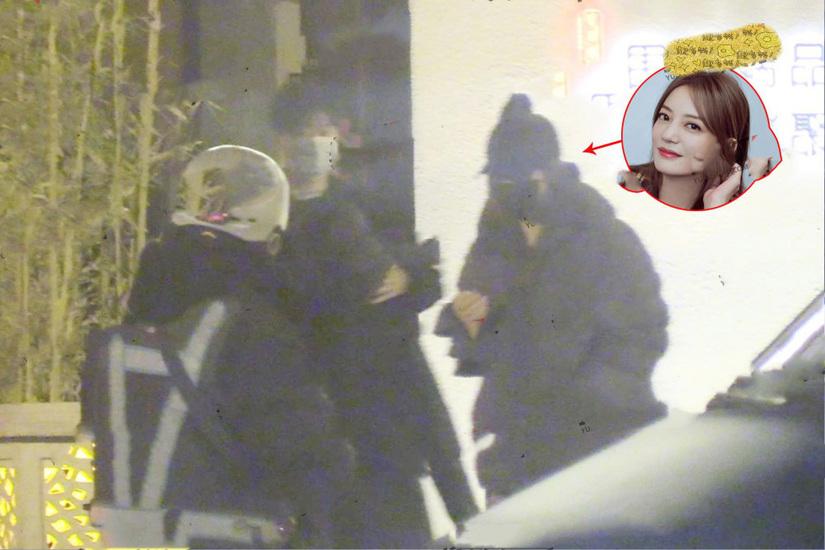 Triệu Vy xuất hiện cùng tình trẻ tin đồn