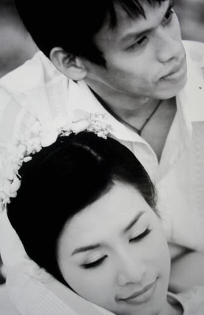 Đây cũng không phải lần đầu diễn viên Hà Hương chia sẻ ảnh bên chồng nhân dịp kỷ niệm ngày cưới