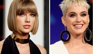"Katy Perry ""thả thính""... Taylor Swift"