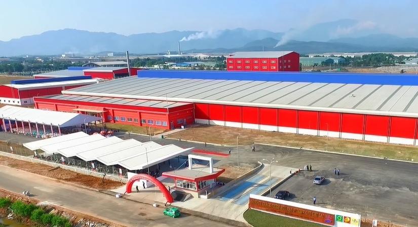 Nhà máy đặt tại huyện Núi Thành, tỉnh Quảng Nam