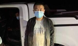Cảnh sát truy đuổi chiếc xe chở 4 người nhập cảnh trái phép vào Quảng Ninh