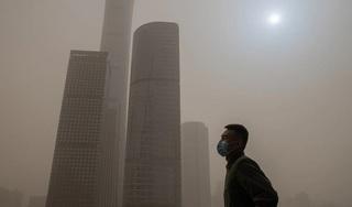 Vì sao Mặt trời ở Bắc Kinh hóa xanh?