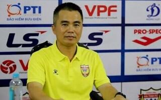 HLV Phạm Minh Đức: 'Tôi đang thất bại với cách đào tạo các cầu thủ Hà Tĩnh'