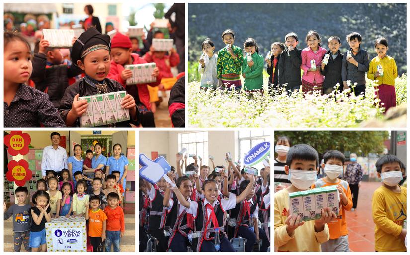 Chiến dịch mới vừa lan tỏa hạnh phúc vừa góp sữa tặng trẻ em kém may mắn
