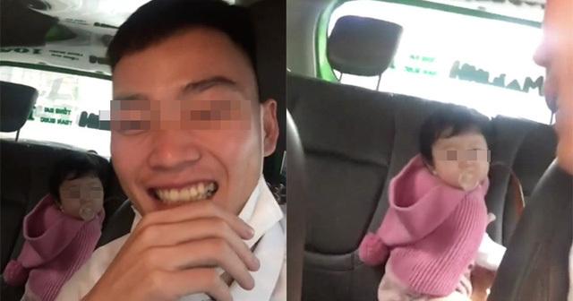 Người mẹ bị tài xế quay clip 'bỏ quên' con nhỏ trên taxi