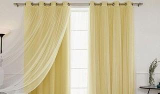Bí quyết tẩy sạch ố vàng trên rèm vải như đến tiệm giặt là
