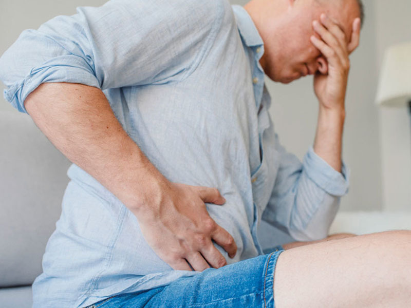 đau bụng tiêu chảy