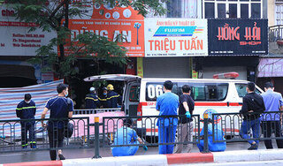 Hà Nội: Cháy cửa hàng ở phố Tôn Đức Thắng, 4 người chết, tiếp tục tìm người mắc kẹt